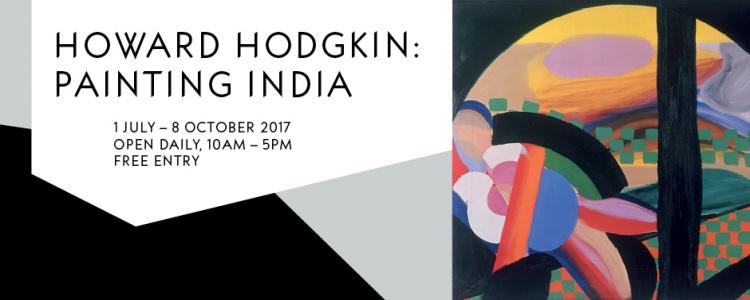 Image advertising the Howard Hodgkin Exhibition