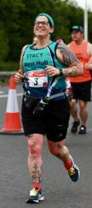 Stacy Mowforth running